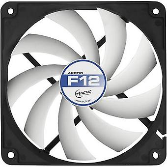 Arctic F12 PC fan Black, White (W x H x D) 120 x 120 x 25 mm