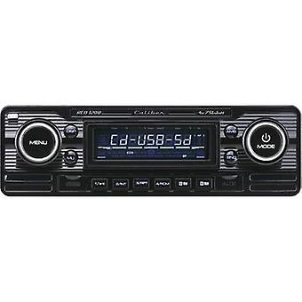 Caliber Audio Technology RCD-120B Car stereo Retro design