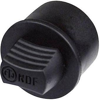 Neutrik NDF Tapón de Relleno Negro 1 ud(s)