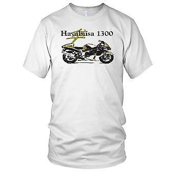 Suzuki Hayabusa 1300 Classic Bike Mens T Shirt