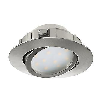 Eglo Recessed LED Spot 84 Satin Nickel Pine
