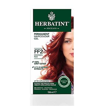 Herbatint, Crimson Red Hair Colour FF2, 150ml