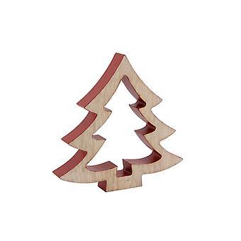 CGB cadeaux grand arbre en bois 3D ornement