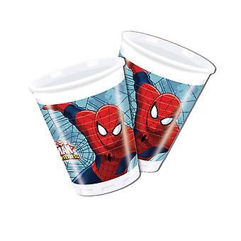 Bekertjes Spider-Man 200 ml 8 stuks