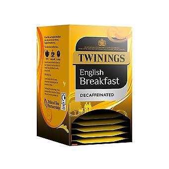 Twinings colazione inglese Decaff avvolto bustine di tè