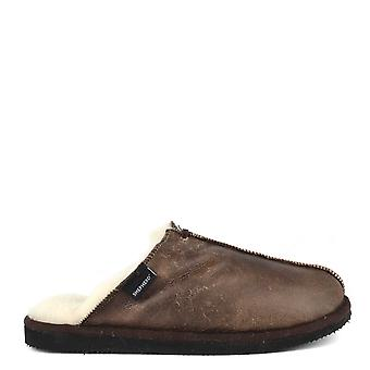 Shepherd of Sweden Mens' Hugo Oiled Antique Slipper
