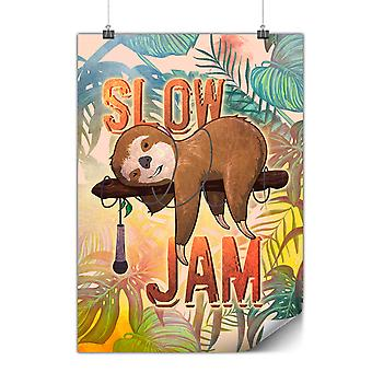 Matte or Glossy Poster with Animal Music Jam | Wellcoda | *y3471