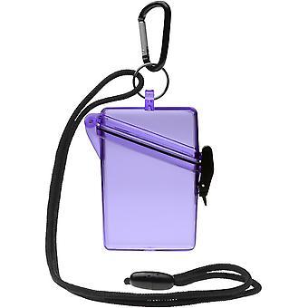 Witz zien veilige lichtgewicht waterdichte Sport Case - paars
