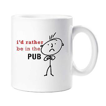 Mens I'd Rather Be In The Pub Mug