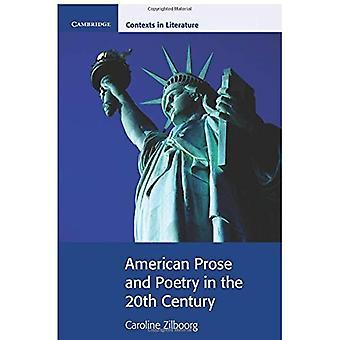 Americano prosa e poesia del Novecento (contesti di Cambridge nella letteratura)