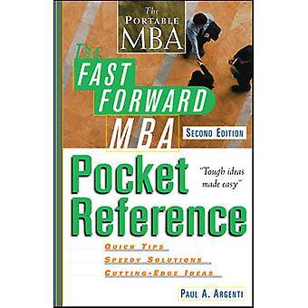 Schneller Vorlauf MBA Pocket Reference von Argentini & Paul