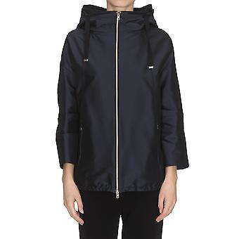 Herno Gc0185d13470s9208 Women's Blue Cotton Outerwear Jacket