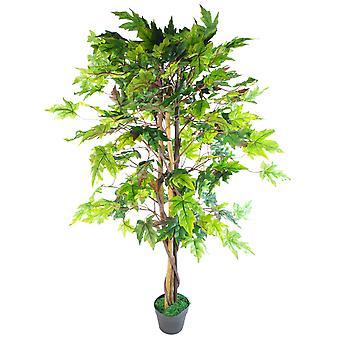 125cm Extra große künstliche Acer Ahornbaum