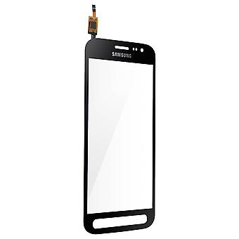 Galaxy Xcover Touch Screen 4 Replacement Glass Frame Black