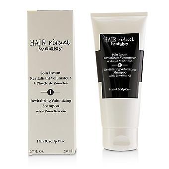 Hiukset Rituel by Sisley elvyttävä, runsas shampoo Camellia Oil-200ml/6.7 oz