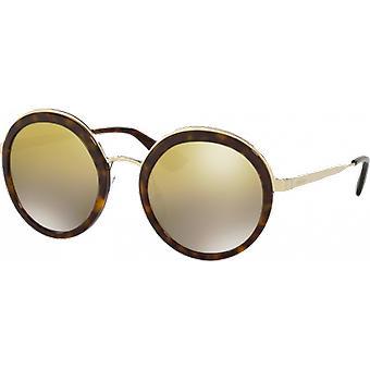 Prada SPR50T tartaruga/oro specchio marrone sfumato oro