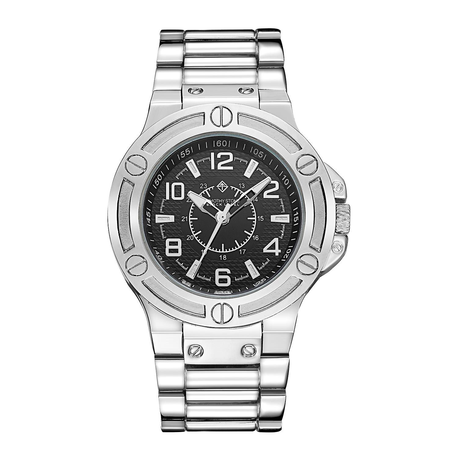 Timothy Stone Men's MANIS Silver-Tone Watch