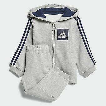 Adidas Niemowlę Boys Bluza dres 3-paski CF7388