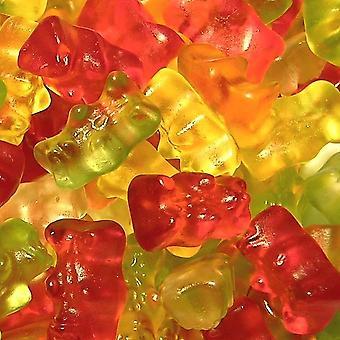 4 pungi de 180g sac de fructe aromate Jelly Teddy Ursuleți Gummies