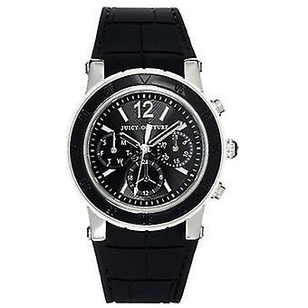 Juicy Couture S.A.R caucho negro señoras reloj 1900899
