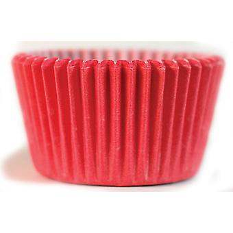 Cupcake Creations Greaseproof Cake Cases, Pack of 32 Red