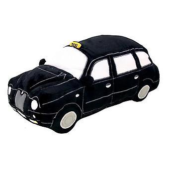 Taxi negro con licencia londres™ cojín de felpa (hrd-tax)