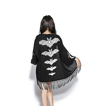 Blackcraft Cult-vapauta Bats-naisten kimono