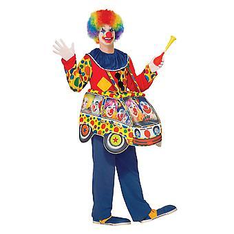 Bristol nyhed unisex klovn bil kostume