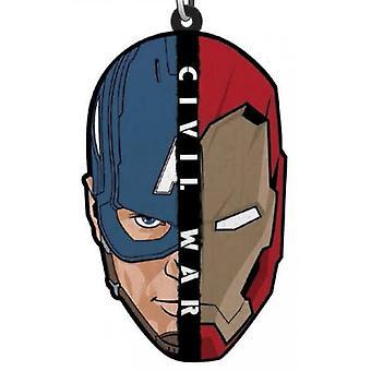 PVC Key Chain - Marvel - Civil War Soft Touch 68548