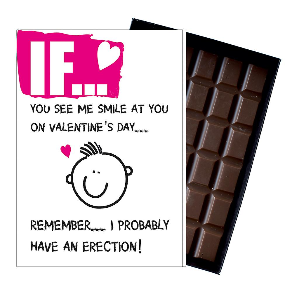 Funny Valentines Day Gifts For Wife Girlfriend Rude Boxed Chocolate For Her IF103