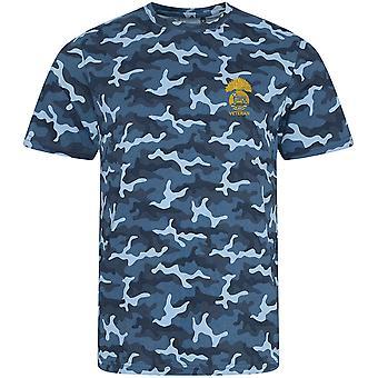 Royal Munster Fusiliers Veterano - Licencia Del Ejército Británico Bordado Camuflaje Impresión Camiseta