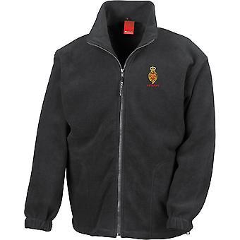 Royal Horse Guards Cypher veteran-licenseret British Army broderet Heavyweight fleece jakke