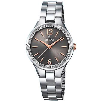 Festina Mademoiselle Quartz Analog Women's Watch with Stainless Steel Bracelet F20246/2
