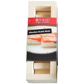 TDK Fzsushi Mold 21X7X6Cm Wood J-1216B 5/50 (Kitchen , Cookware , Kitchen Gadgets)