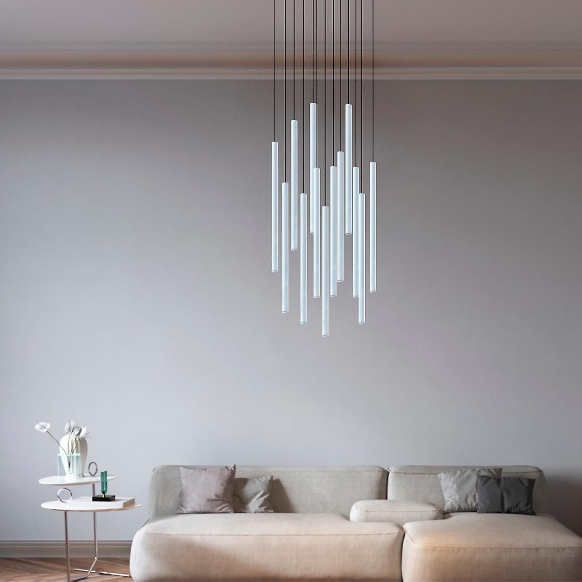 Modern Pendant Lamp Ceiling Light Home Décor Hanging 13 Pendant Round Canopy