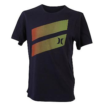 Hurley Men's T-Shirt ~ One & Only Gradient navy
