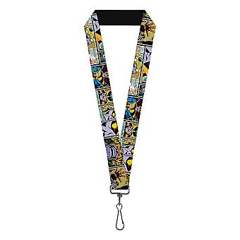"Thanos Comic Scene 1.0"" Lanyard"