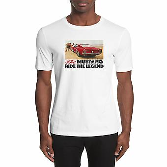 Ford Mustang T-shirt. Officially Licensed Ford Product.