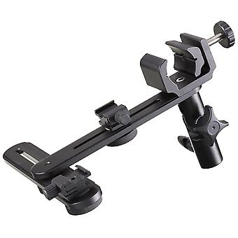 BRESSER JM-76 reflektor holder + flash holder