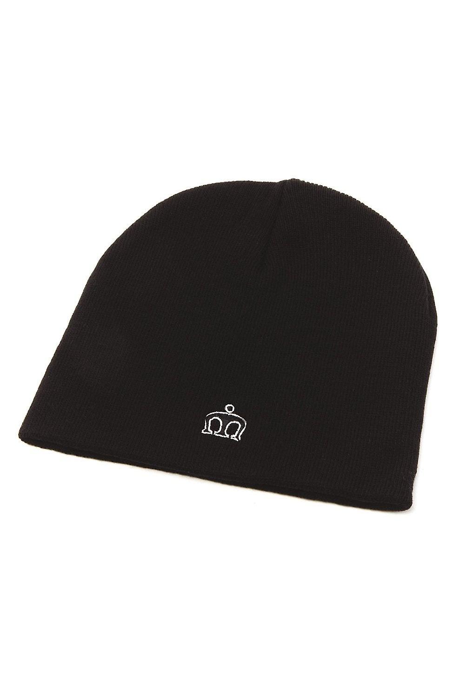 Merc London Collins Black Beanie Hat