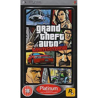 Grand Theft Auto Liberty City Stories - Platinum Edition (PSP) - New