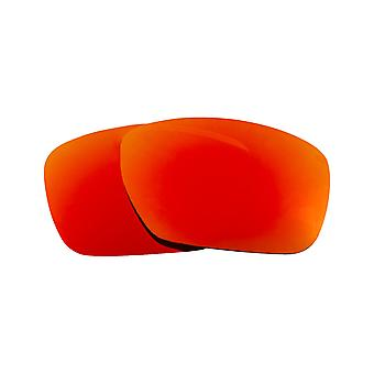 SEEK Lenses Compatible for Oakley Tincan Carbon Polarized Red Mirror