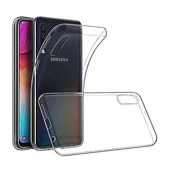 Stoff zertifiziert® Transparent Clear Case Cover Silikon TPU Fall Samsung Galaxy A70