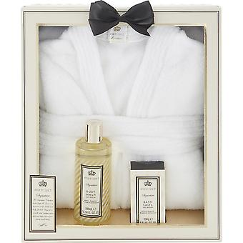 Style & Grace Signature Pamper Me Robe Set - 300ml Body Wash, 100g Bath Salts and Bath Robe