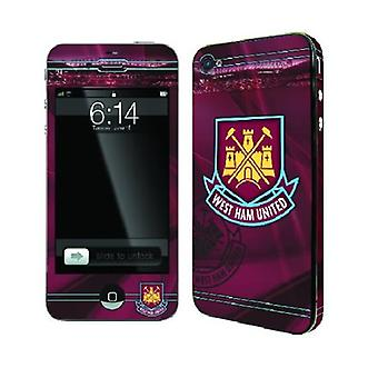Offisiell FC skins for iPhone 4/4s-WEST HAM UNITED
