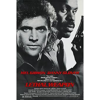 Dodelijk wapen (enkelzijdig Regular) originele Cinema poster