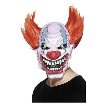 Mens Clown Mask  Fancy Dress Accessory