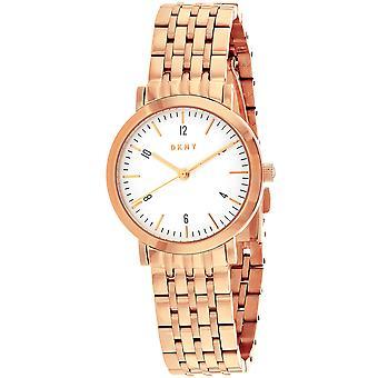 DKNY Women's Minetta White Dial Watch - NY2511