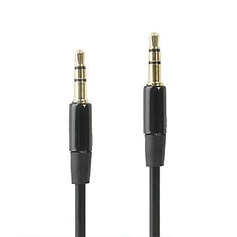 Audio cable 3.5 mm jack for MP3 players, smartphones and tablets 1 meter