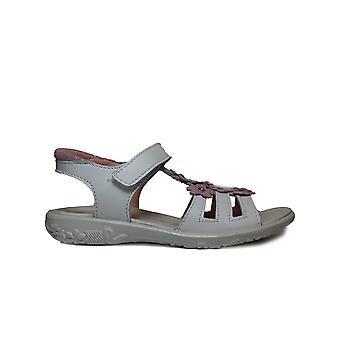 Ricosta Chica 6420100-811 wit leer meisjes T bar sandalen